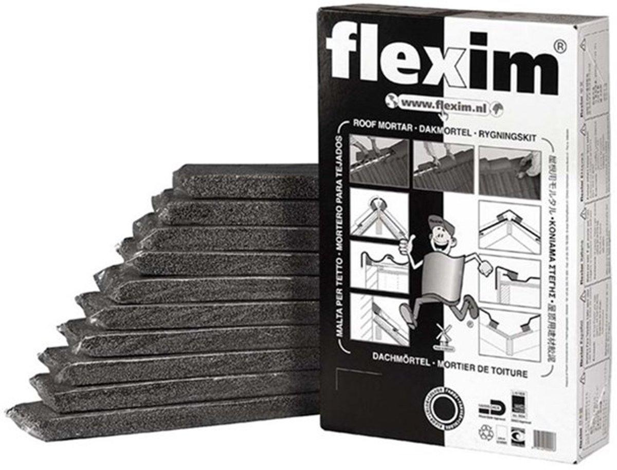 Flexim Dakmortel - 20 l - Zwart kopen