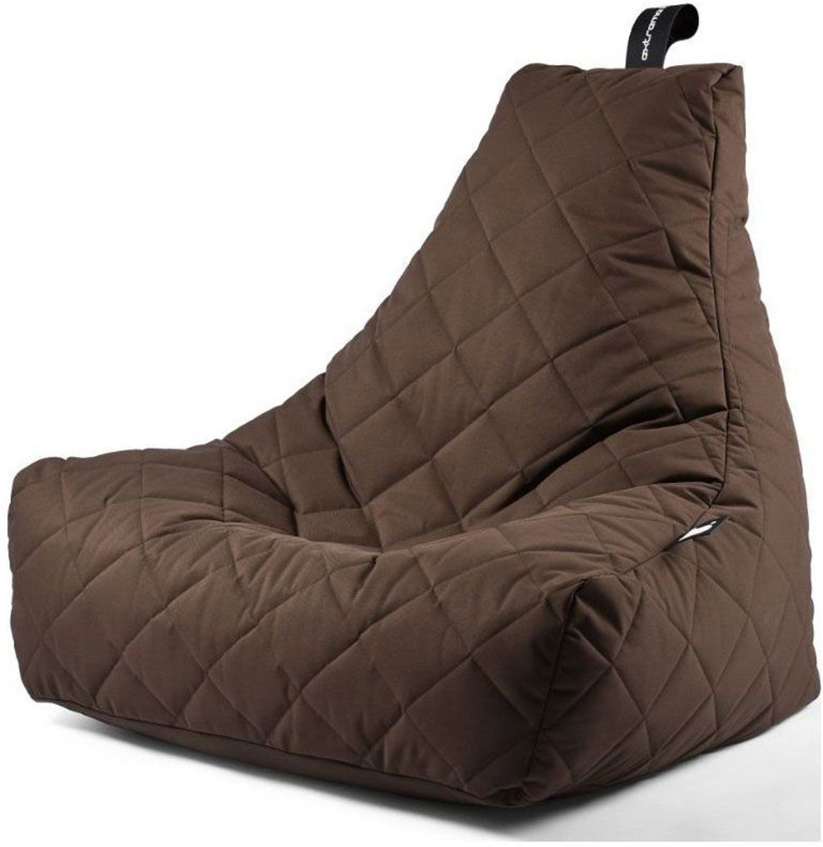 Extreme Lounging B-Bag Mighty-B Zitzak Quilted - Bruin kopen