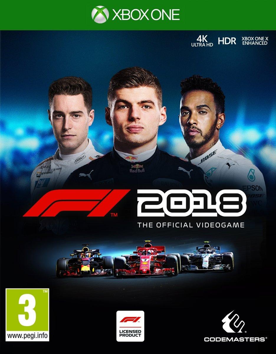 Formula 1 F1 2018 Xbox One