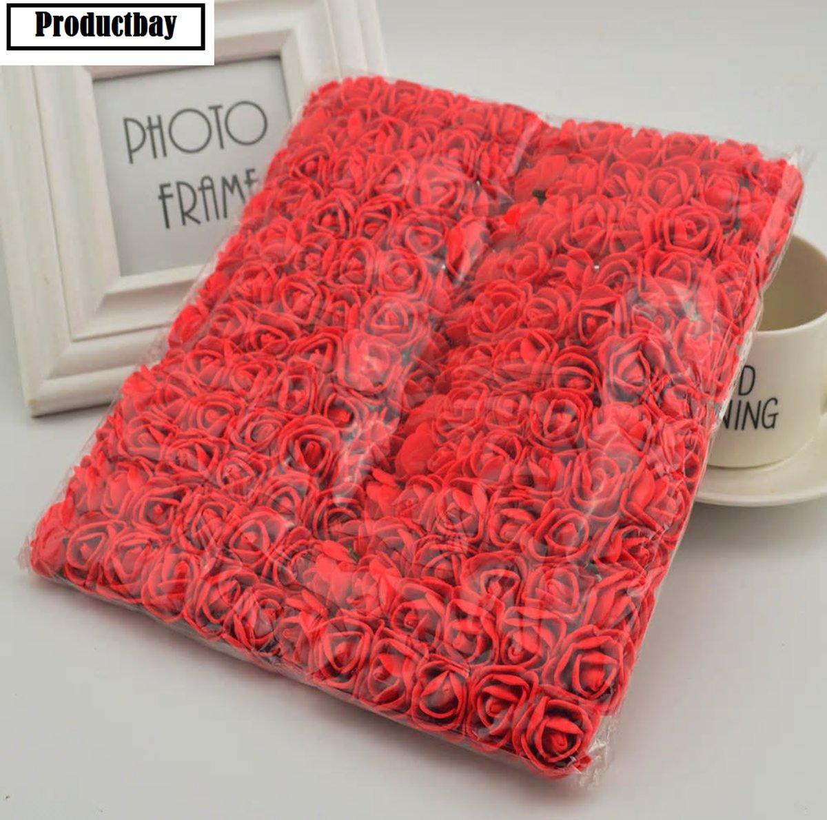 144x Foam Rozen Rood // Rozenblaadjes // Rozen // Rode Rozen // Rood kopen