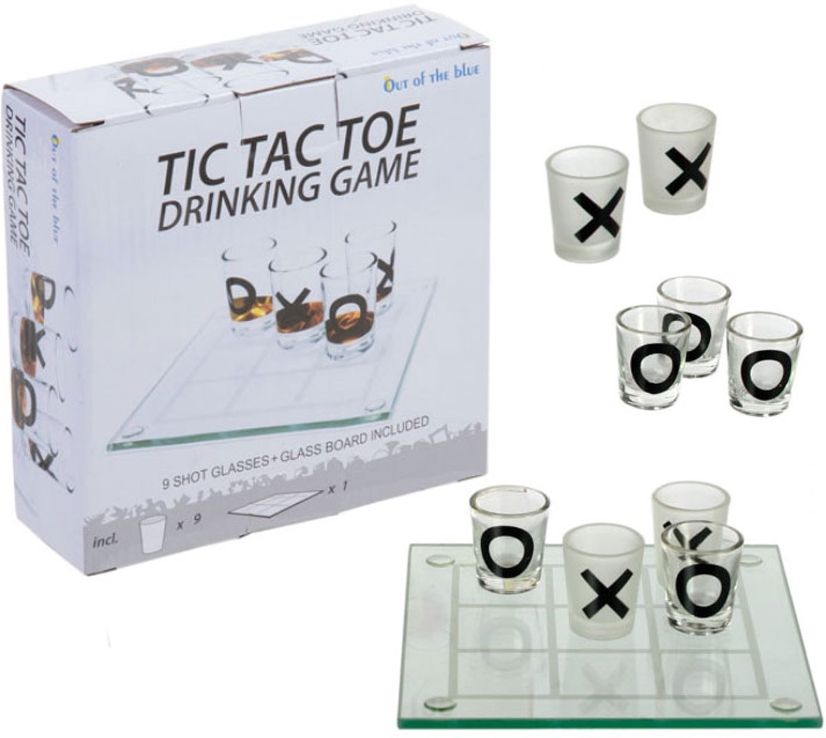 Tic Tac Toe Drinkspel