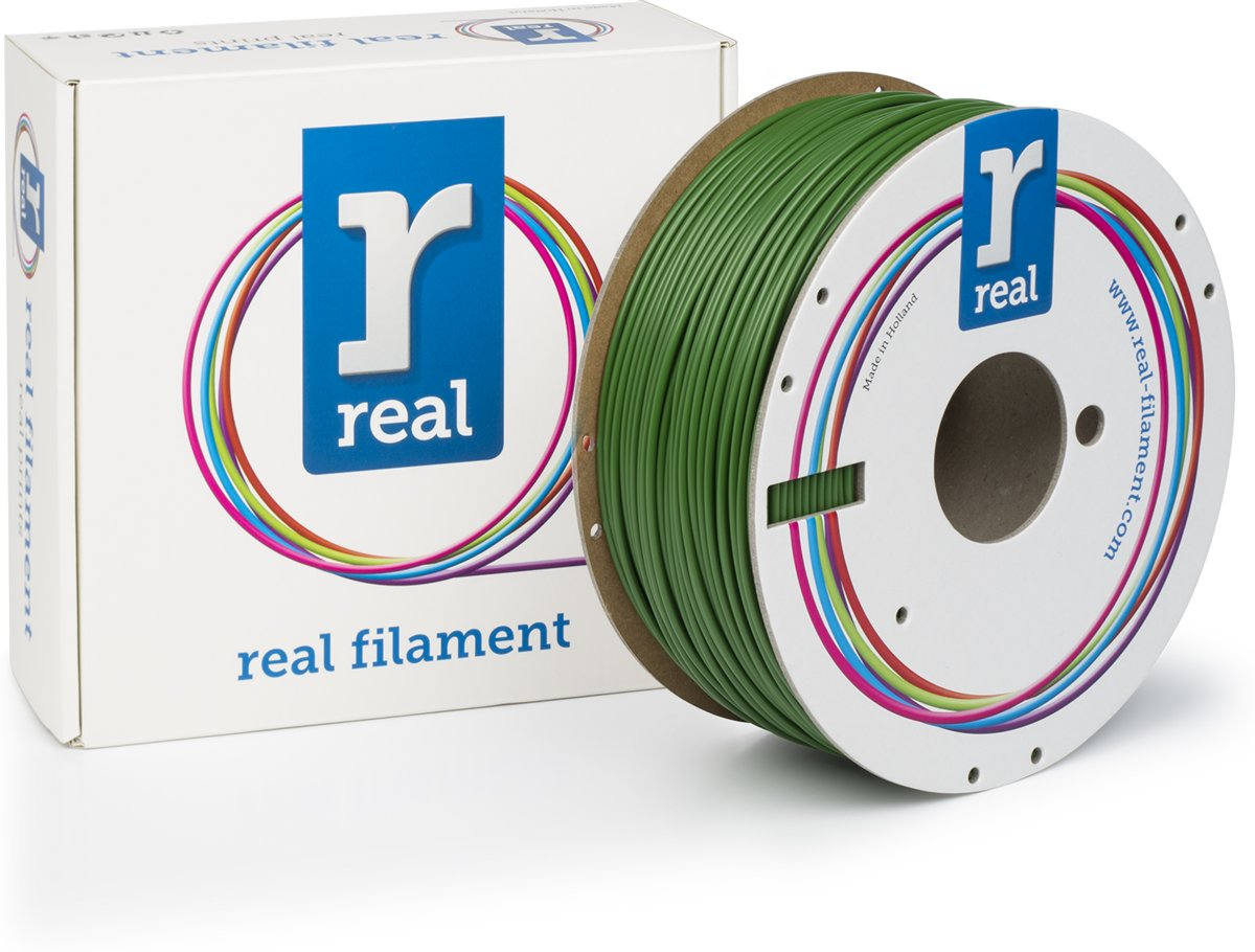 REAL Filament ABS groen 2.85mm (1kg)