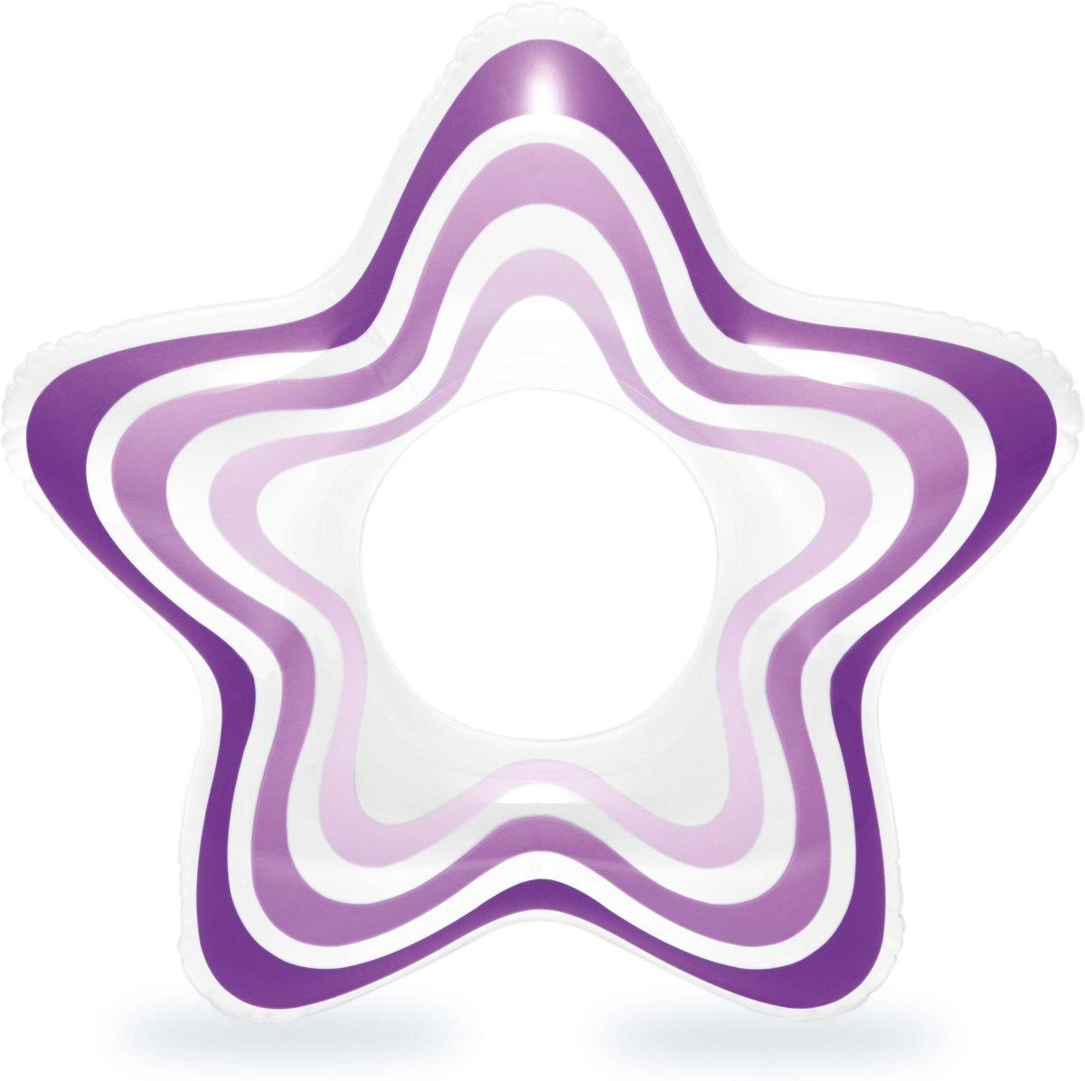 STAR RINGS Zwemring Geel Groen Paars