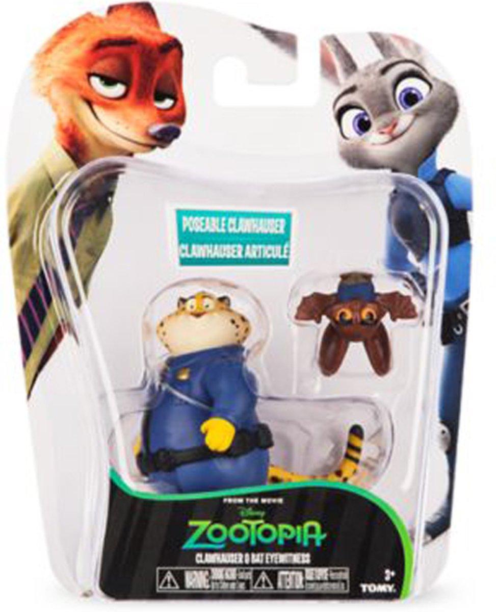 Zootropolis Speelfiguren - Clawhauser & Bat Eyewitness
