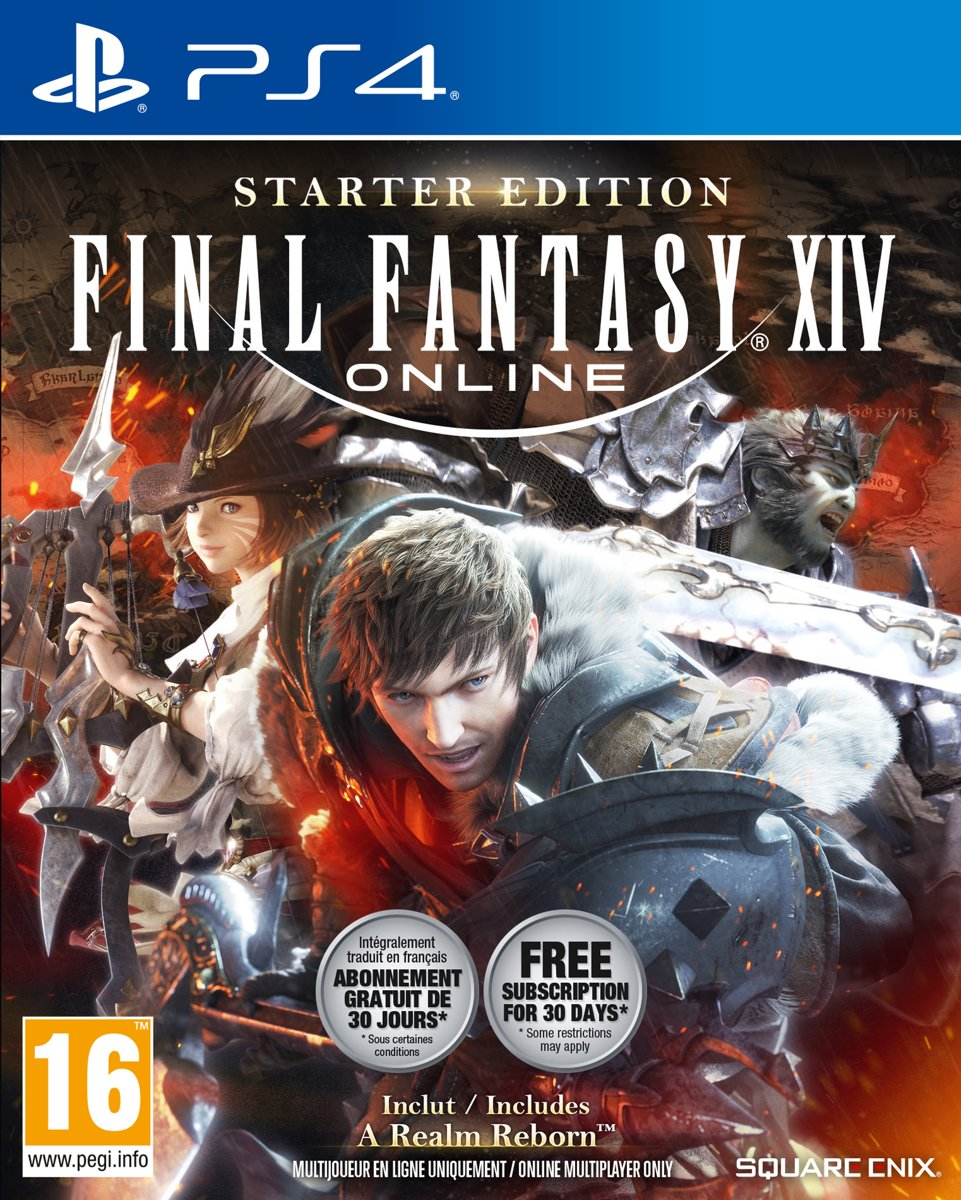 Final Fantasy XIV - Starter Edition PlayStation 4