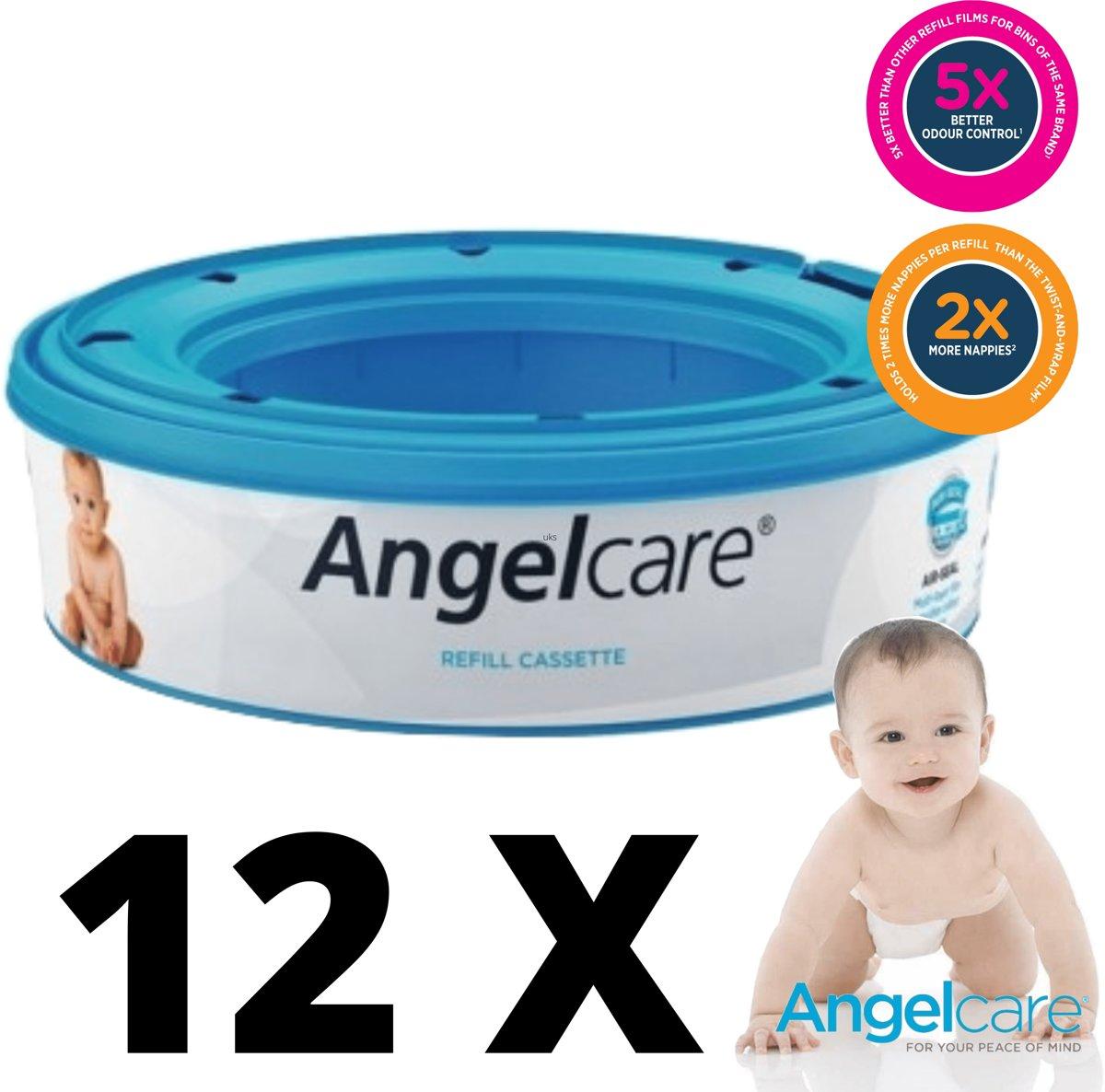 Foto van Angelcare navulcasettes luieremmer (12-pack)