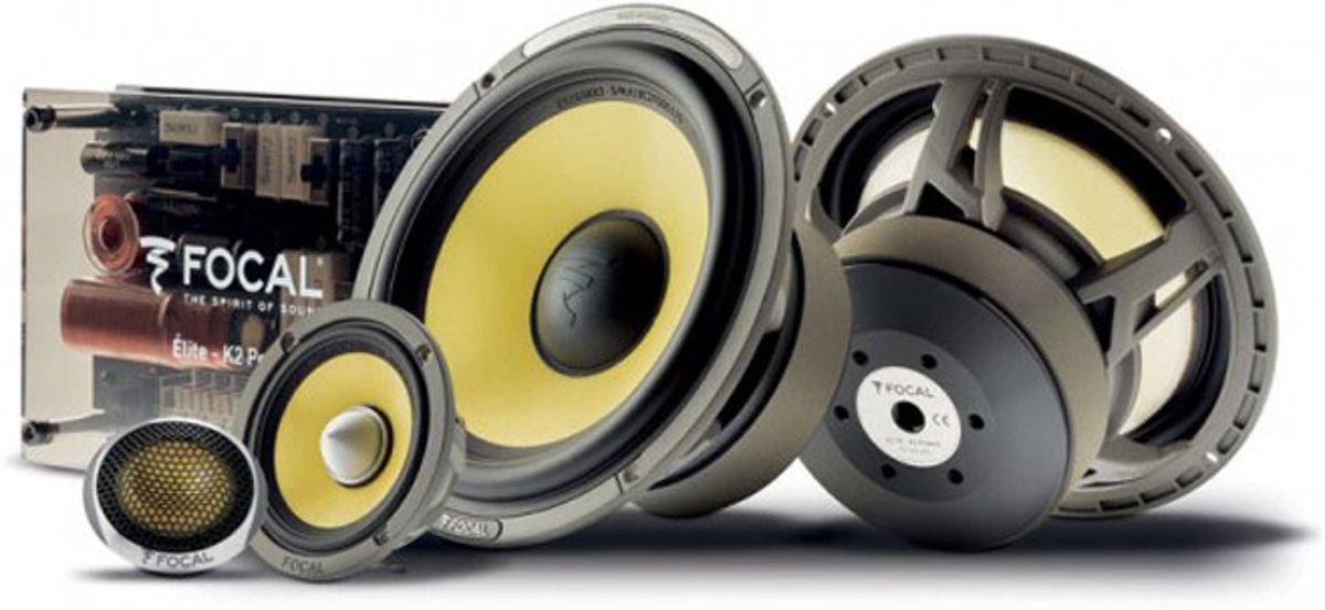Focal ES165KX3 | Premium 165mm component speakerset 3-weg kopen
