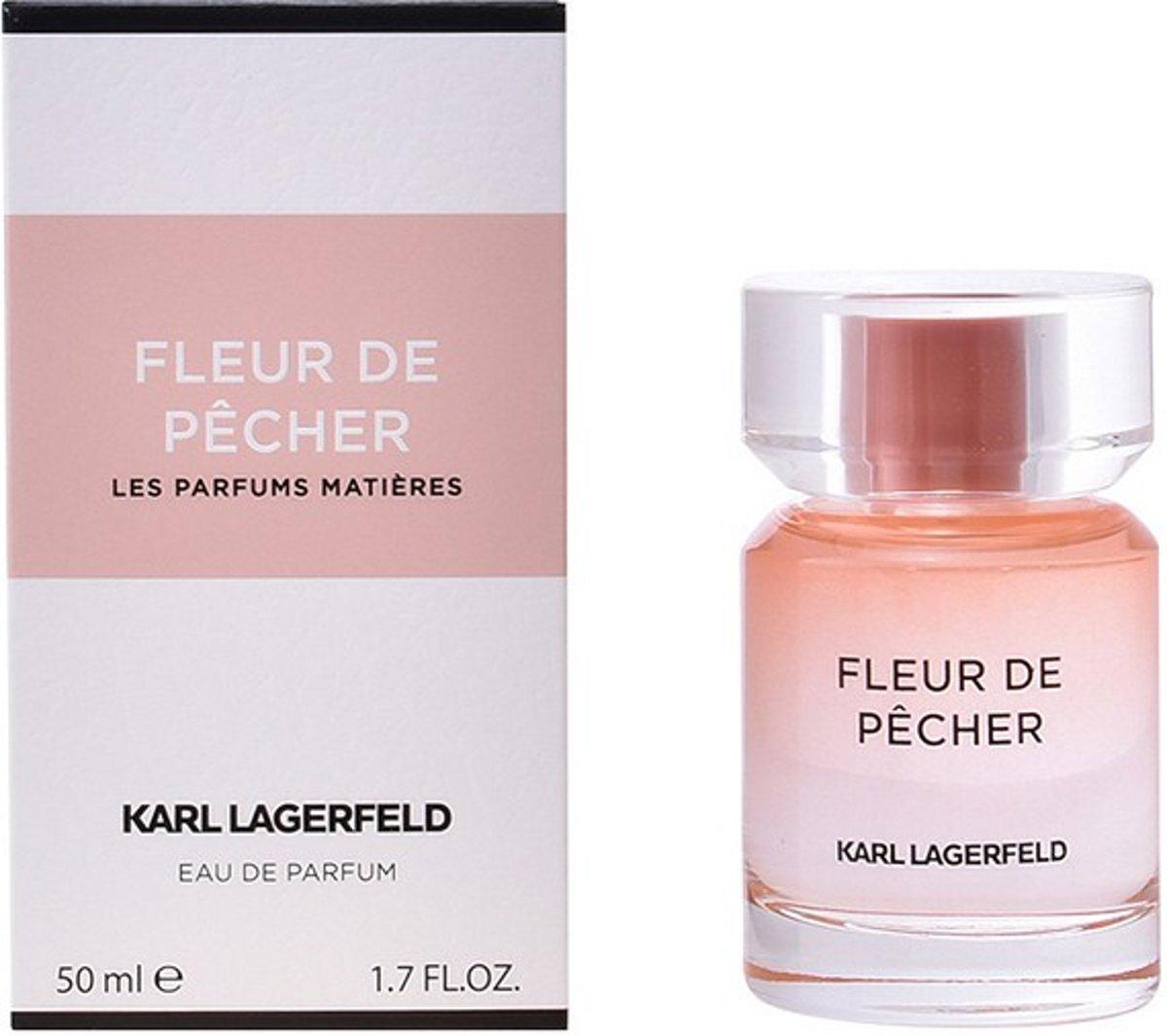 Bol Com Karl Lagerfeld Fleur De Pecher Eau De Parfum Spray 50 Ml