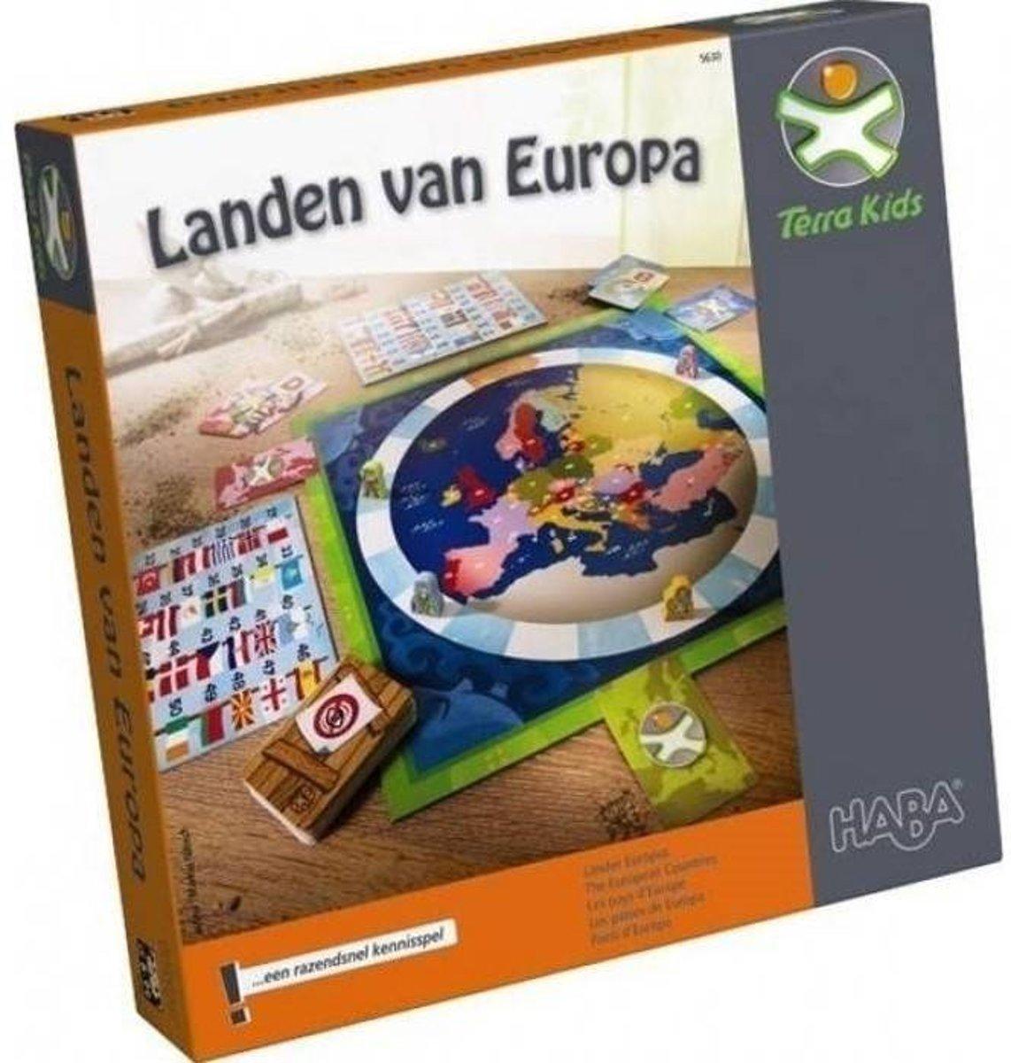 Haba Spel Vanaf 8 jaar Landen van Eurpa