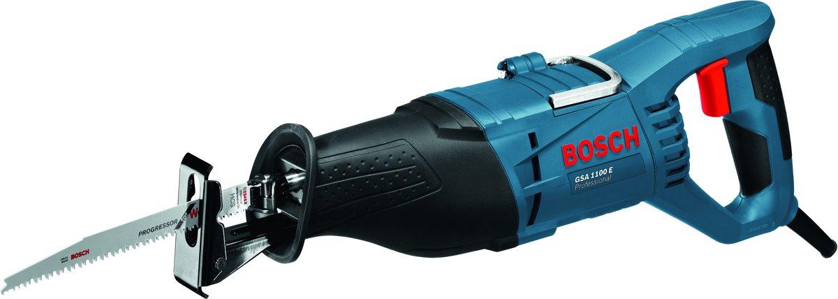 Bosch Professional GSA 1100 E Reciprozaag - 1100 Watt - Met 2 zaagbladen en opbergkoffer