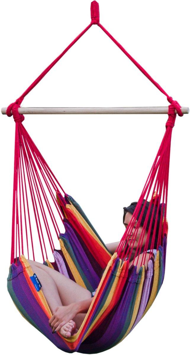 Potenza - Extra grote hangstoel / 2-persoons hangstoel ( inclusief Hangstoelbevestiging voor buiten)