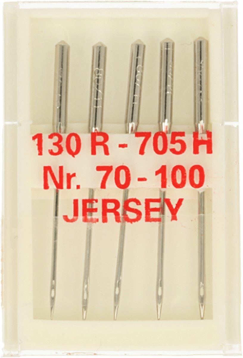 NAAIMACHINE NAALDEN STRETCH 130R - 705H.  NO. 70-100 - 2 DOOSJES a 5 STUKS. [ LET OP VERKEERDE FOTO ]