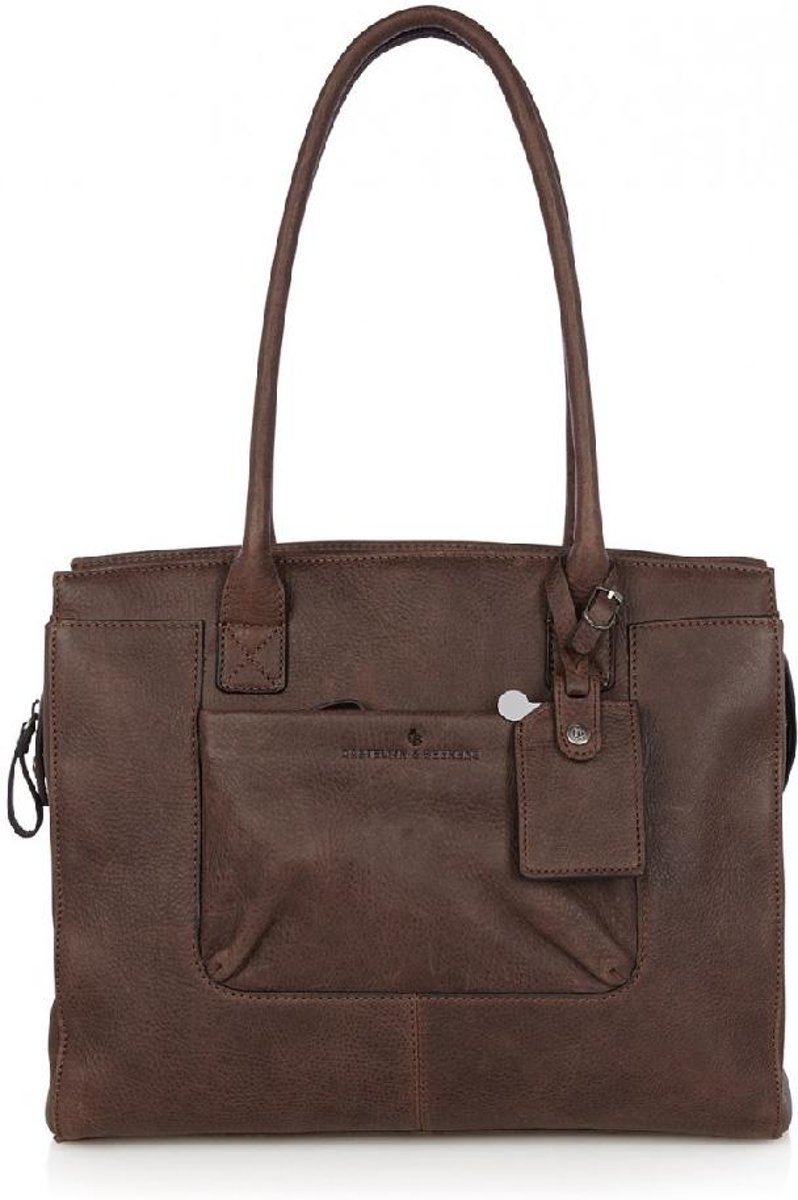 "0e0eb351b68 bol.com | Castelijn & Beerens Carisma Ladies Laptop Bag 15,6"" Tablet mocca  | 72 9664 MO"