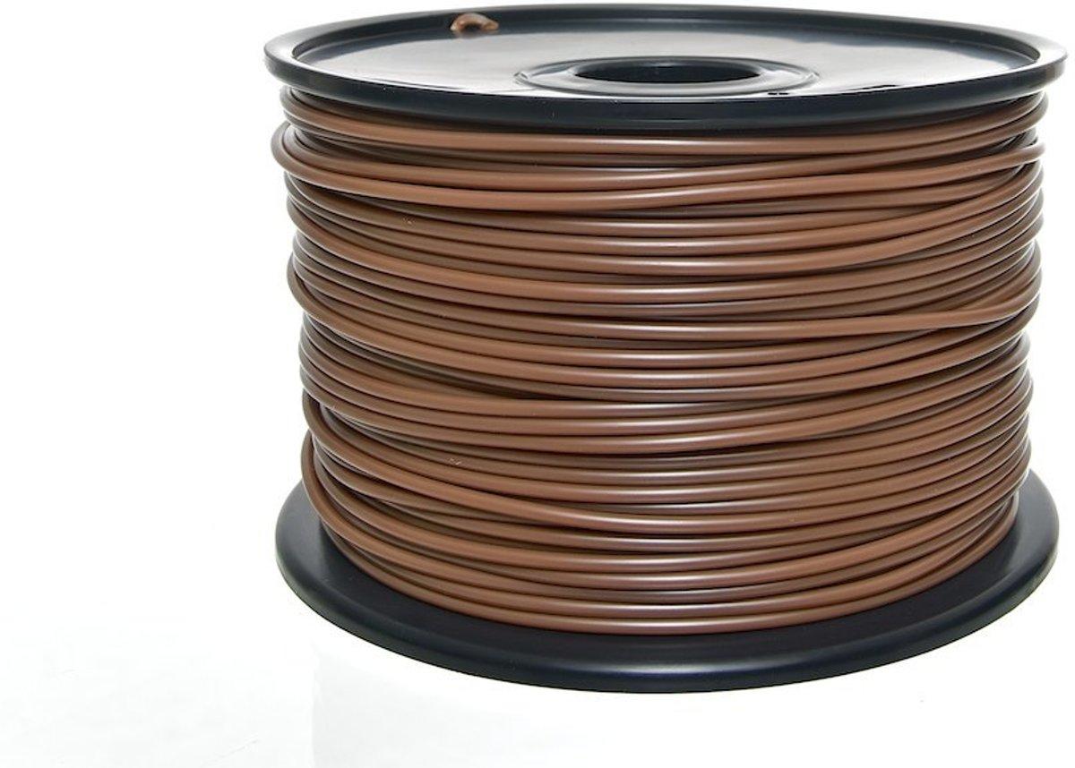 Clp 3D-Filamenten - ABS (1 kg) - bruin, 3 mm
