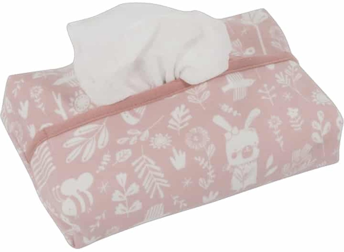 Little Dutch Babydoekjes hoes - adventure pink kopen
