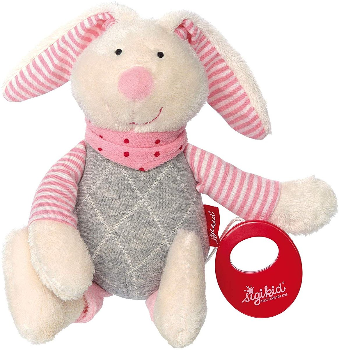 sigikid Musical rabbit rose, Urban Baby Edition kopen