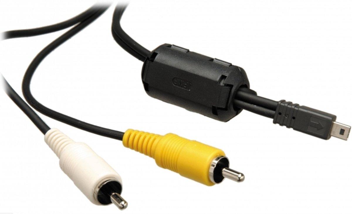 Original VHBW USB Av audio video cable para Pentax Optio i-avc7