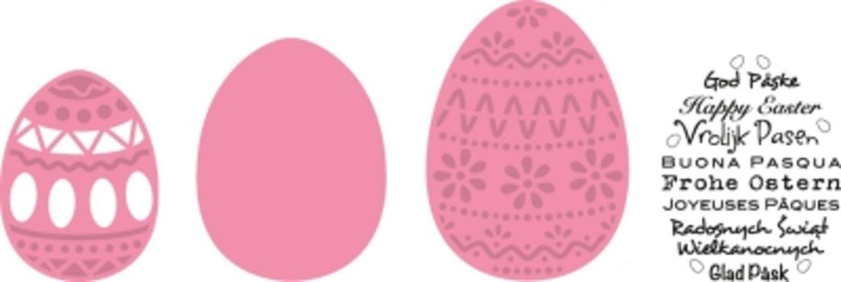 Marianne Design Col1382 Paas eieren, incl. Stempel kopen