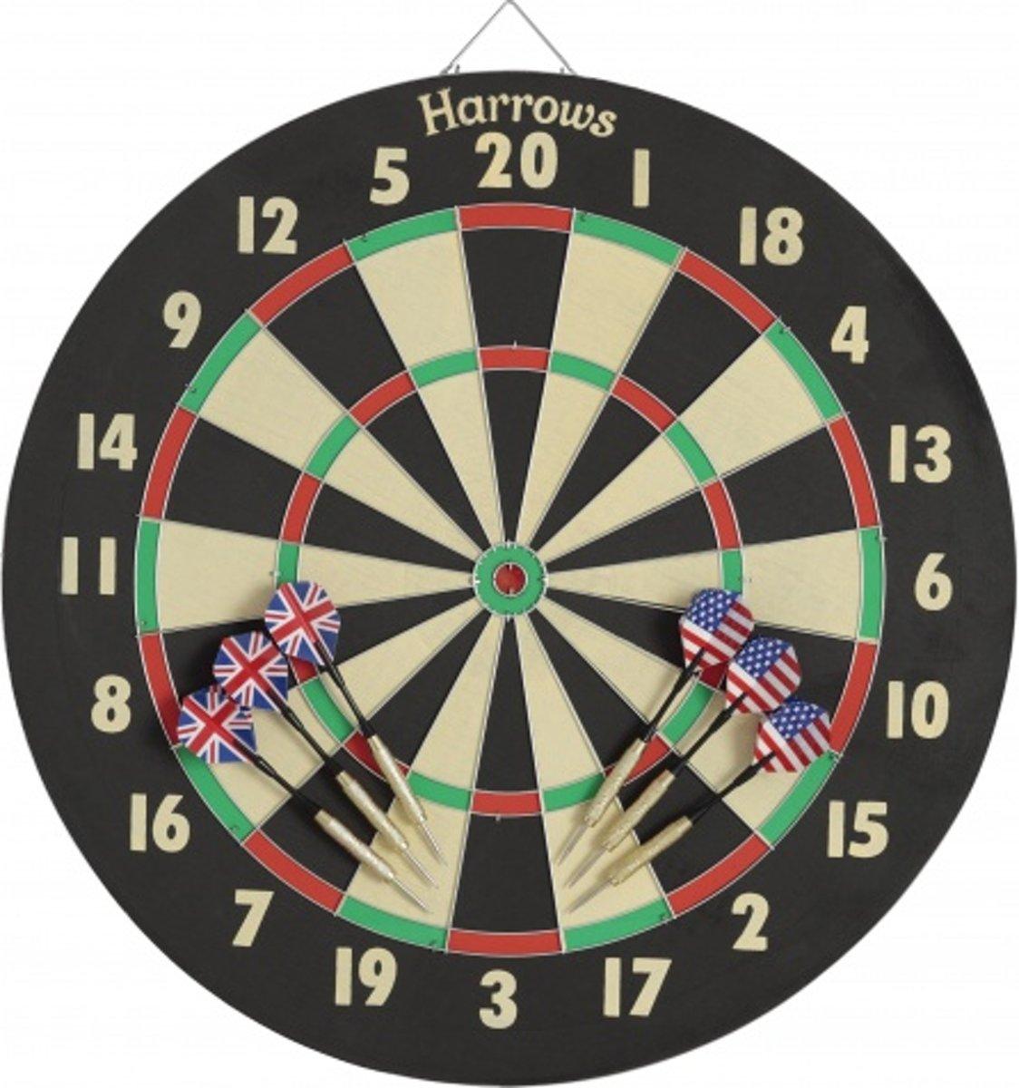 Harrows Darts Dartbord Eric Bristow Family Dart Game kopen