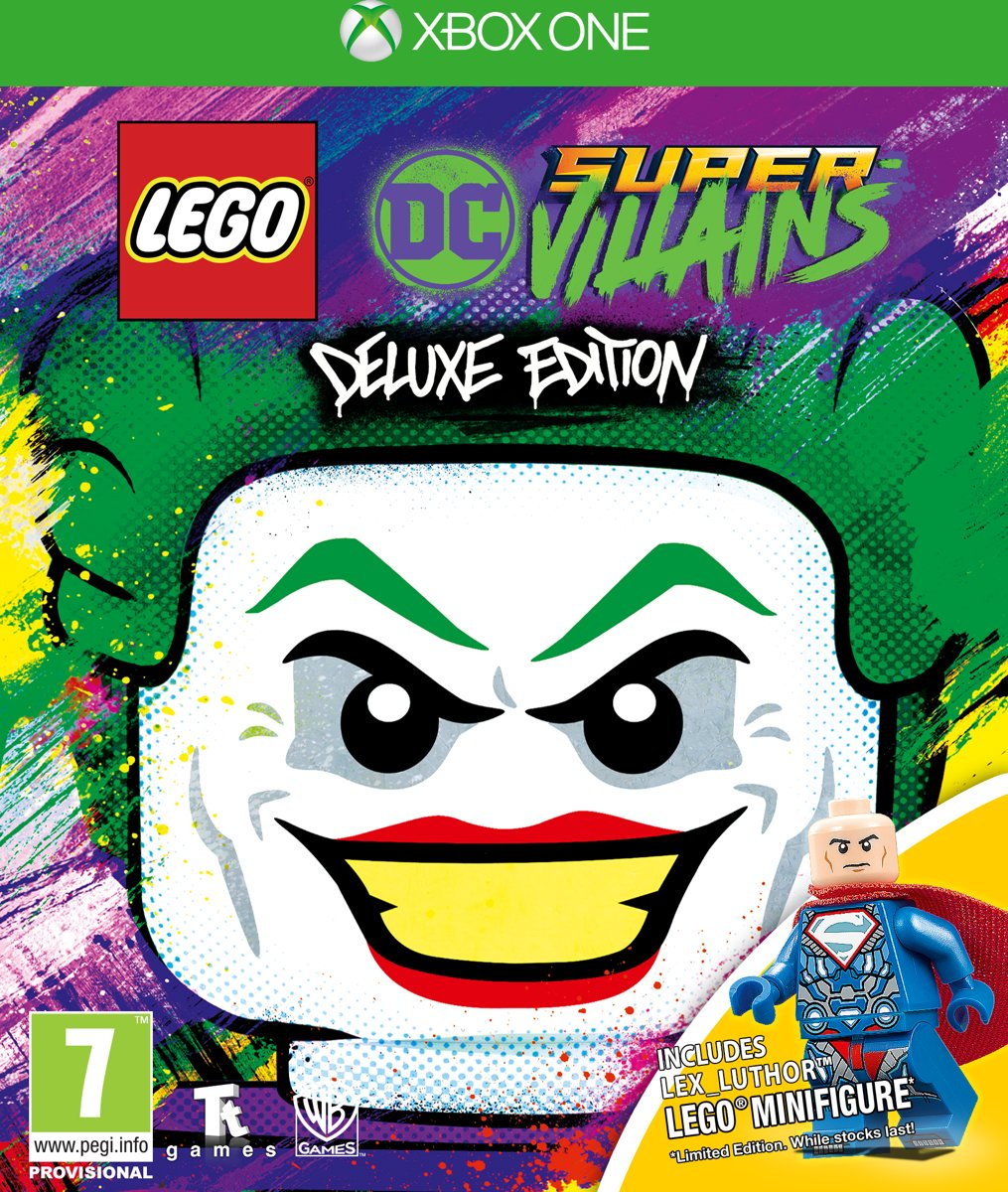 LEGO DC Super Villains - Deluxe Edition PlayStation 4