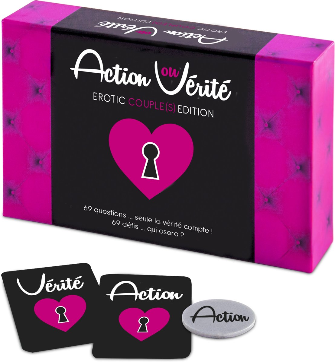 Tease and Please Erotisch Spel Action ou Vérité Couple(s) Edition