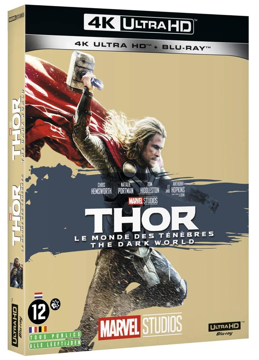 Thor: The Dark World (4K Ultra HD Blu-ray) (Import Zonder NL)-