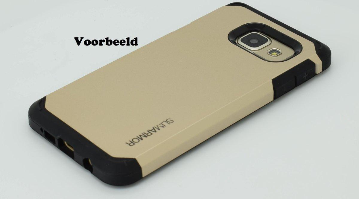 Slim Armor Samsung Galaxy A5 2016 A510 Back Cover Anti Spigen Tough Hybrid Case Shock Goud
