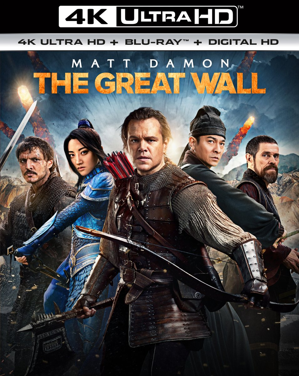 The Great Wall (4K Ultra HD Blu-ray)-