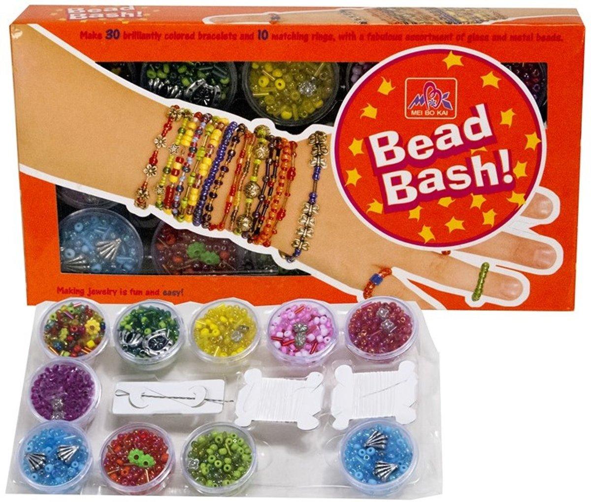 Bead Bash kralenset glas/metaal - Armbandjes maken kopen