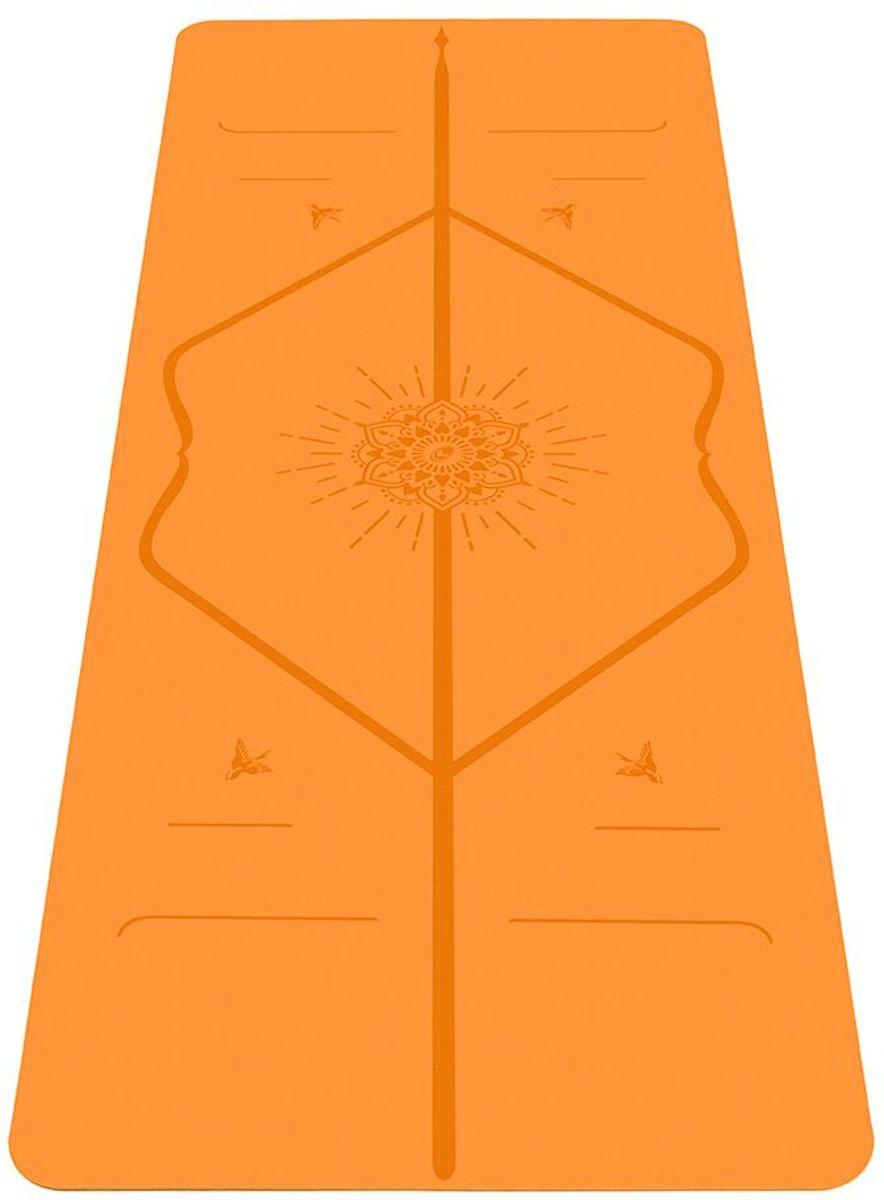 Liforme Happiness Yoga mat oranje  (Inclusief draagtas) kopen
