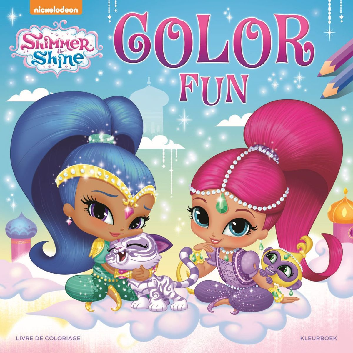 Shimmer and shine color fun