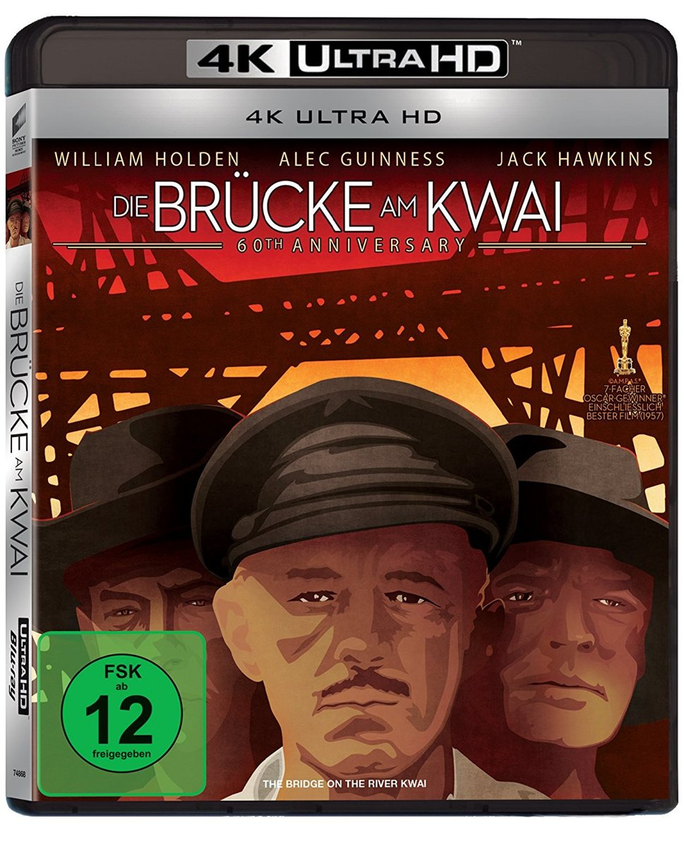 The Bridge On The River Kwai (1957) (Ultra HD Blu-ray)-