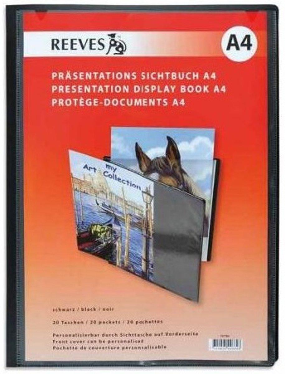 Reeves displaybook 20 hoezen maat A4 kopen