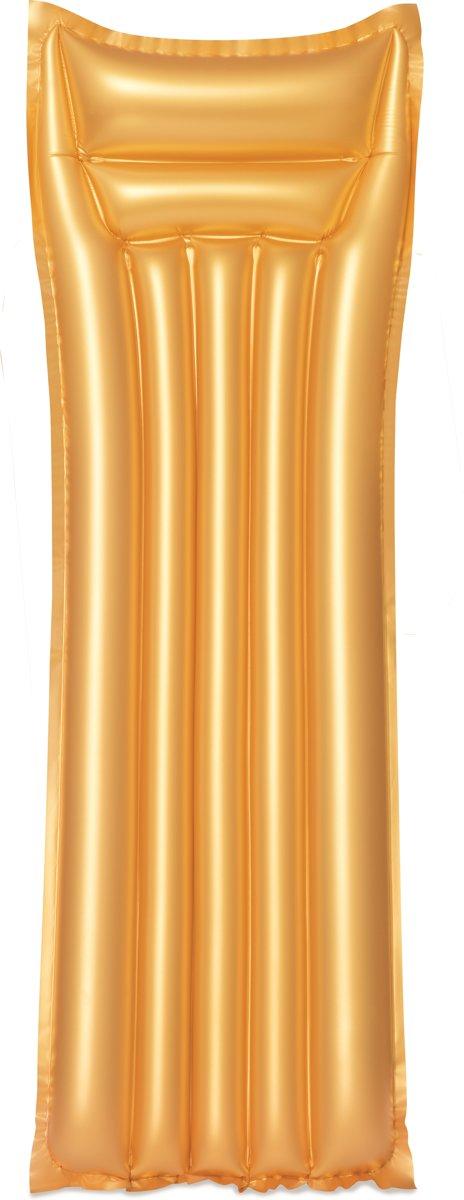 Bestway Opblaasbare Gouden Luchtbed (183 x 69 cm) - Luchtbed