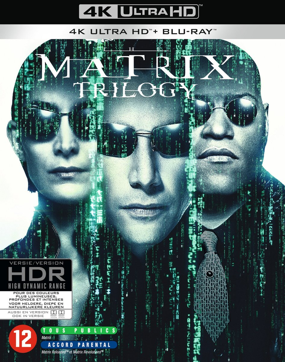 The Complete Matrix Trilogy (4K Ultra HD Blu-ray)-