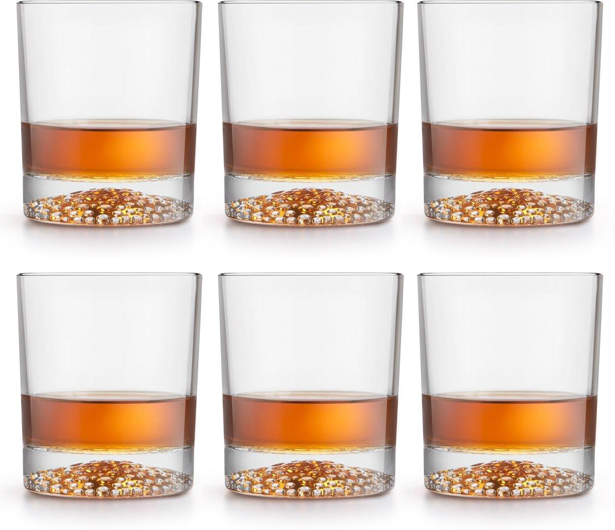 Libbey Whiskyglas – Gles – 30 cl / 300 ml - 6 stuks - hoge kwaliteit - luxe design - vaatwasserbestendig kopen