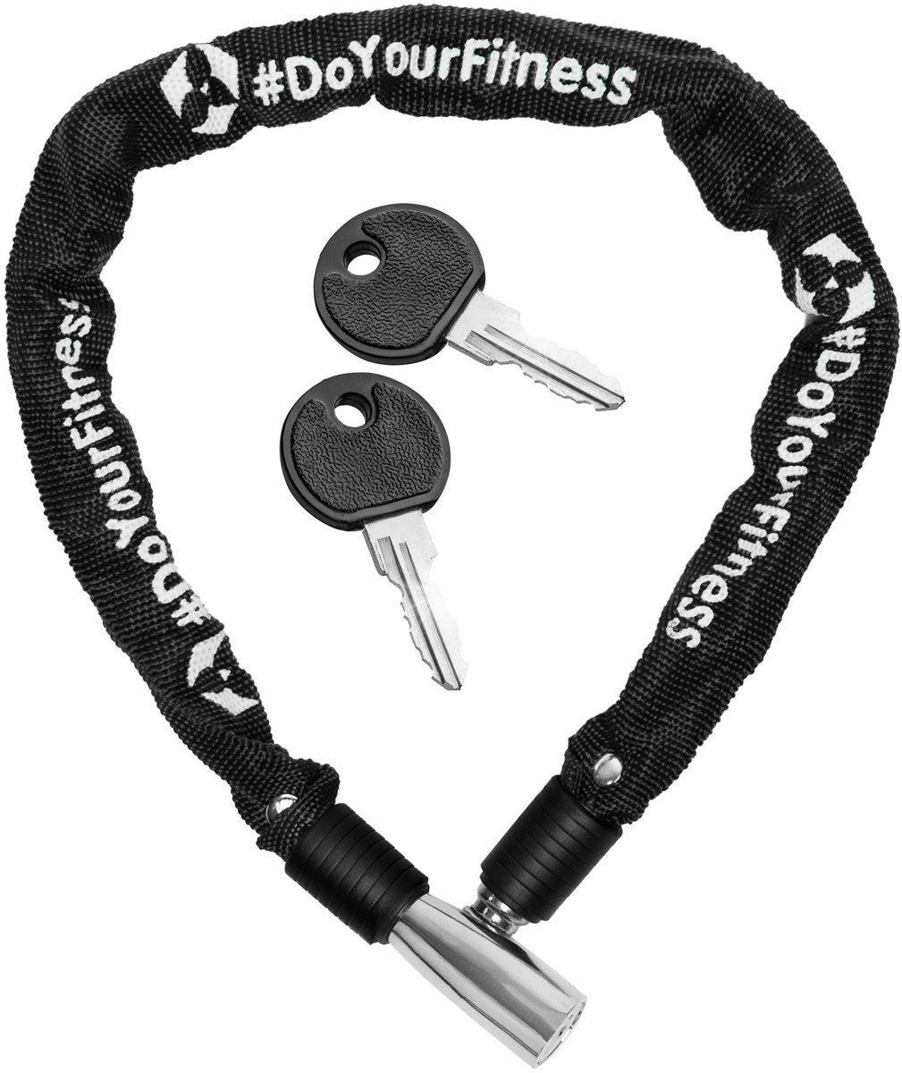 #DoYourOutdoor - Fietsslot - »Guardian« - Kettingslot - L 60 cm,  Ø ca. 20 cm, dikte ca. 3/4 mm - zwart
