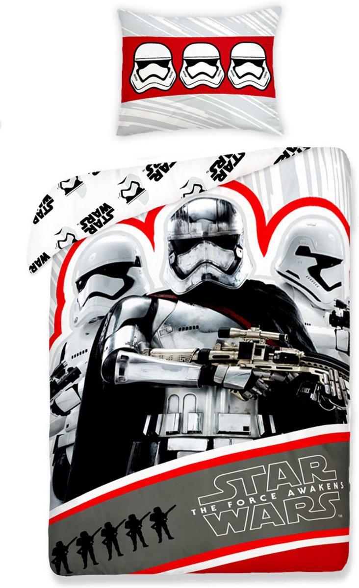 Star Wars VII Kapitein Phasma Stromtroopers dekbedovertrek - eenpersoons - 140 x 200 kopen