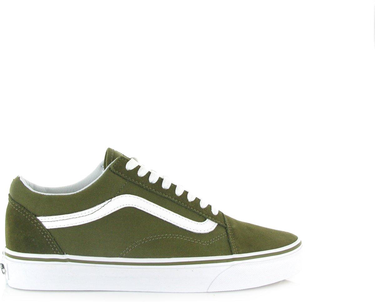 vans khaki groen