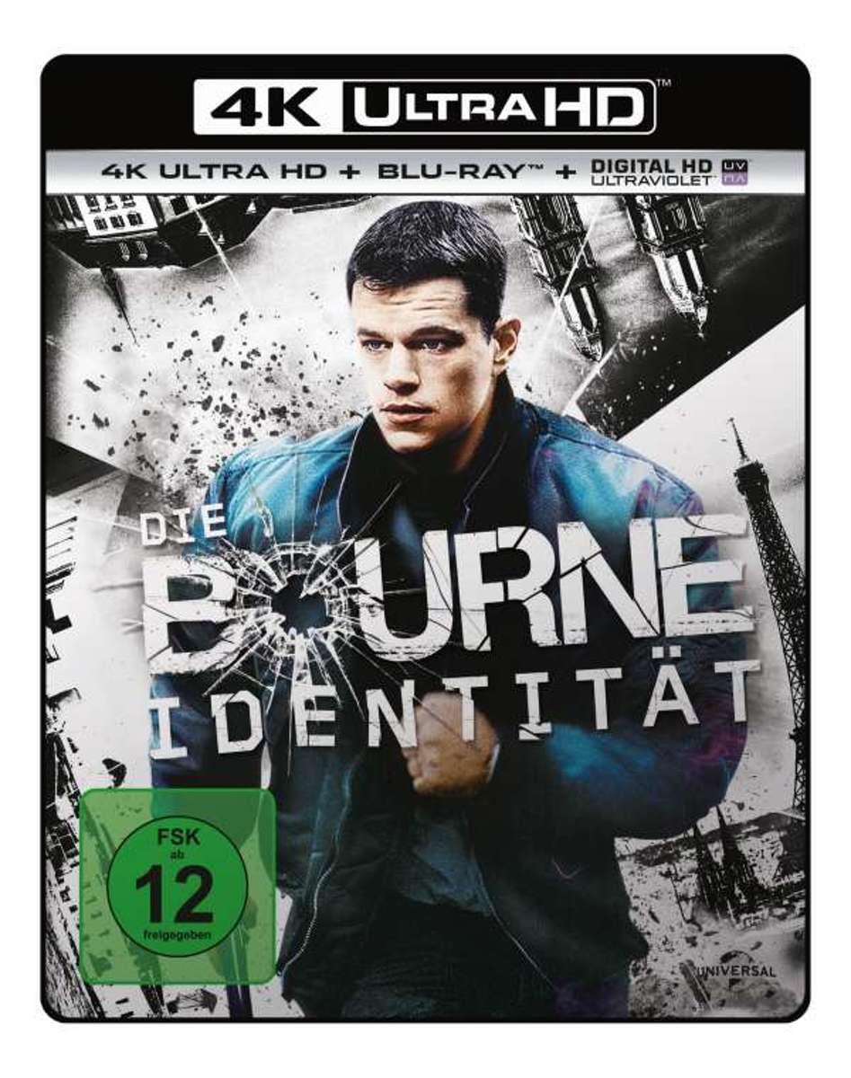 The Bourne Identity (2002) (Ultra HD Blu-ray & Blu-ray)-