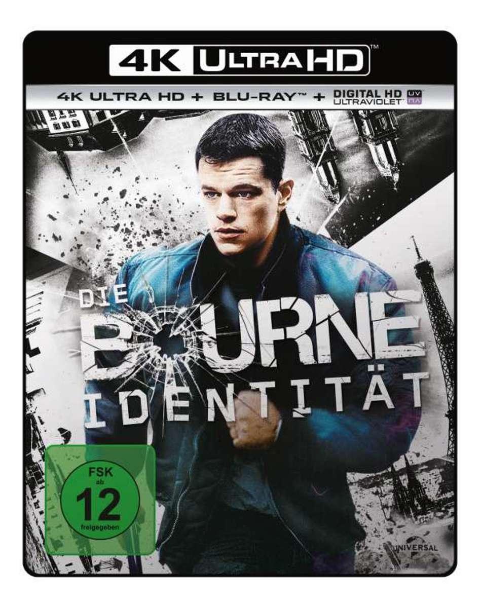 The Bourne Identity (2002) (Ultra HD Blu-ray & Blu-ray)-
