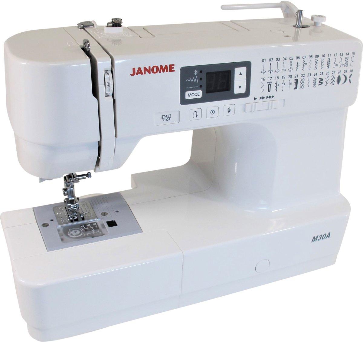 Janome M 30 Aktie Naaimachine