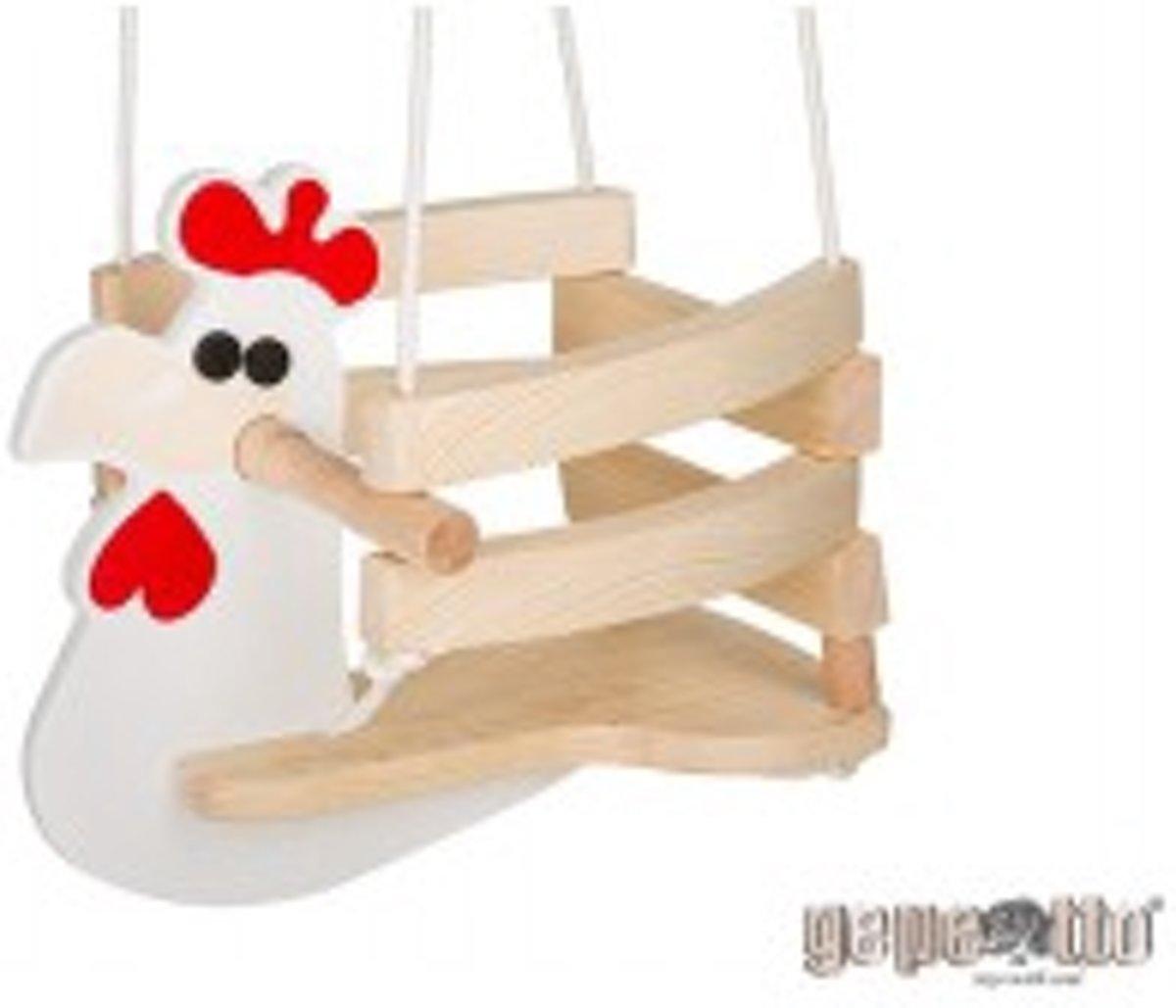 Houten Babyschommel Kip - Gepetto