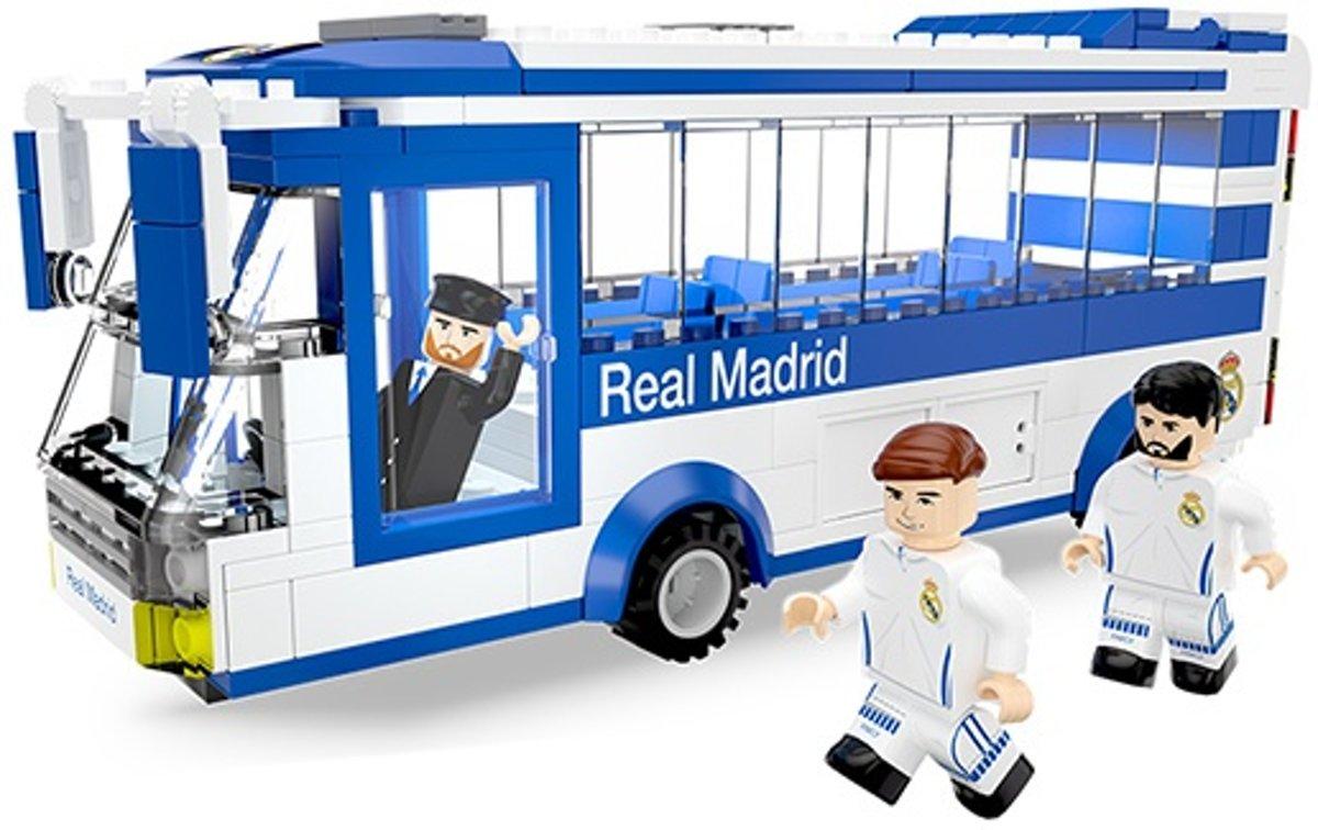 Real Madrid Spelersbus met 3 figuren - NanoStars