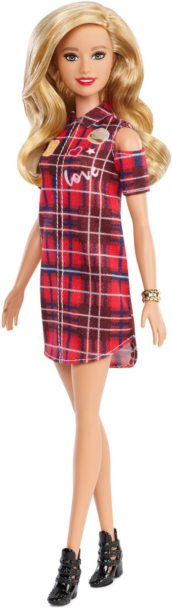 Barbie Fashionistas Pop - Patched Plaid