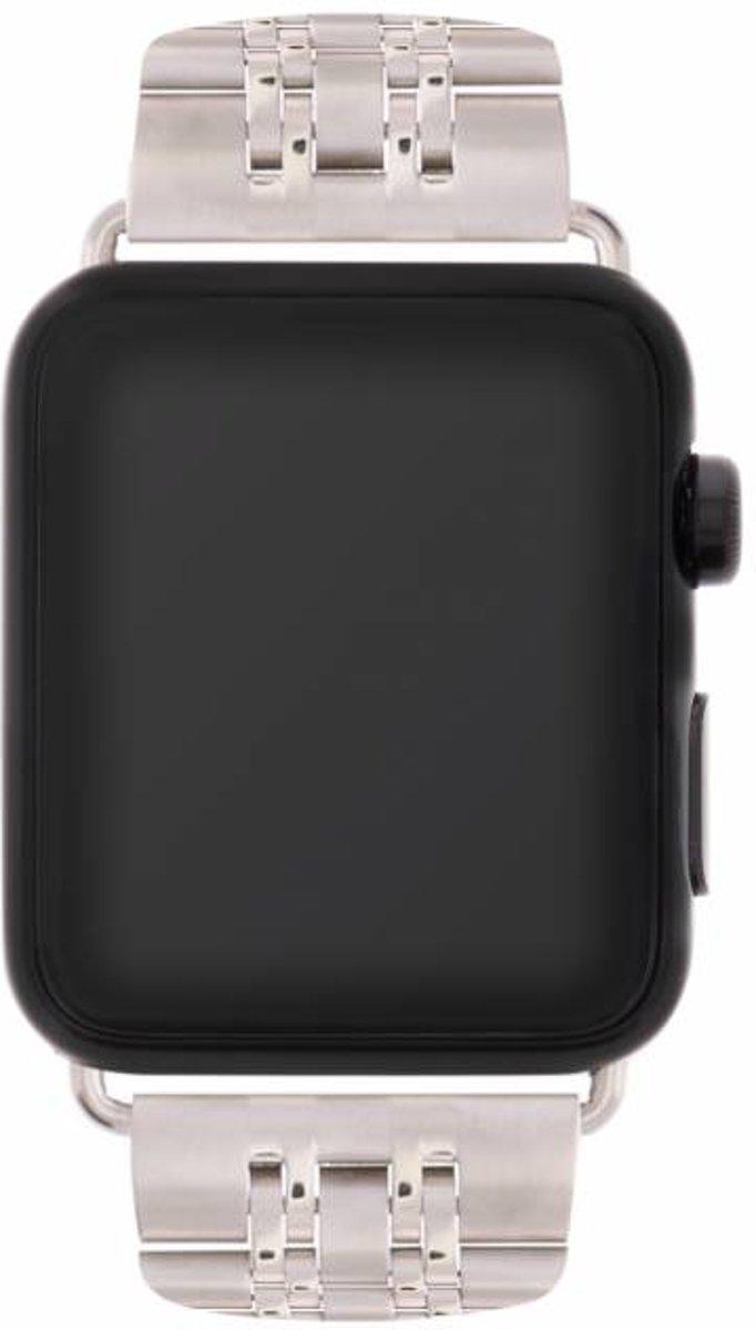 Zilveren Stainless steel watch band voor de Apple Watch 44 / 42 mm kopen