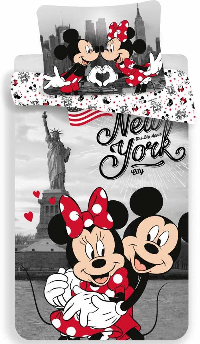 Disney Minnie Mouse New York - Dekbedovertrek - Eenpersoons - 140 x 200 cm - Multi kopen