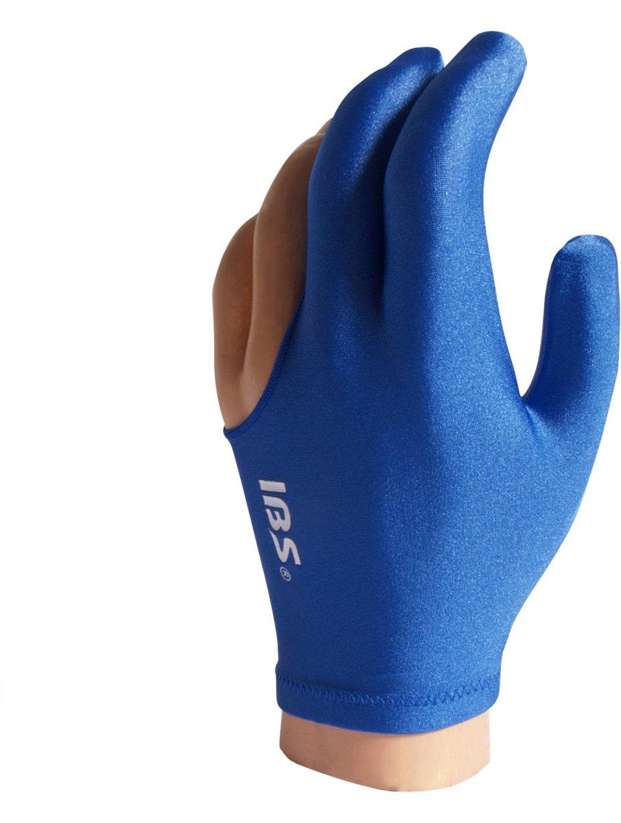 IBS biljarthandschoen blauw one size