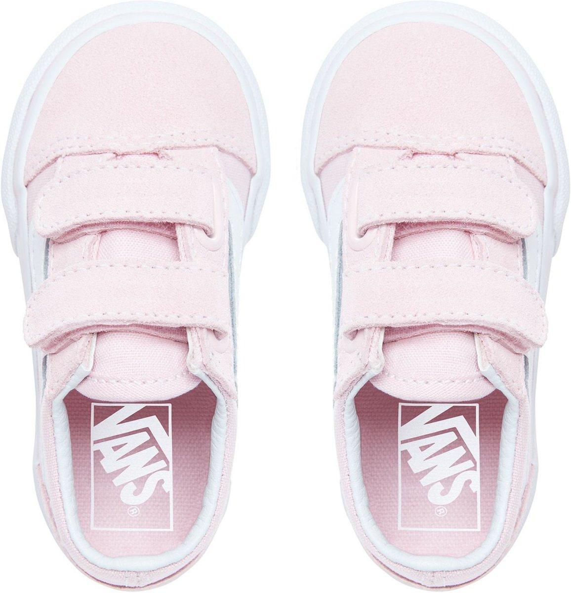 Plimsolls VANS Old Skool V VN0A344KQ7K (SuedeCanvas) Chalk Pink