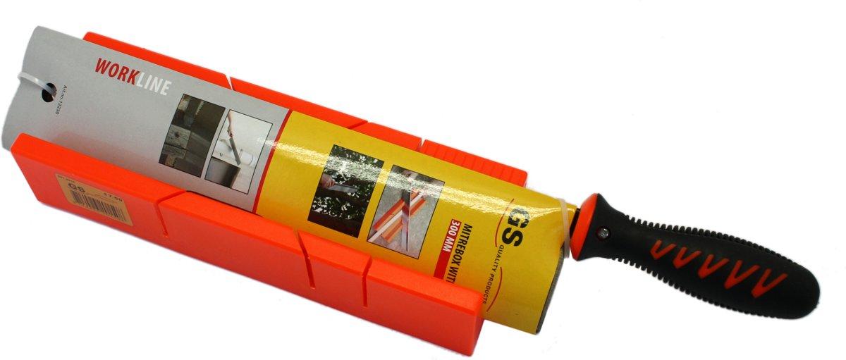 GS QUALITY Verstekbak - 300 mm - Incl. Verstekzaag kopen
